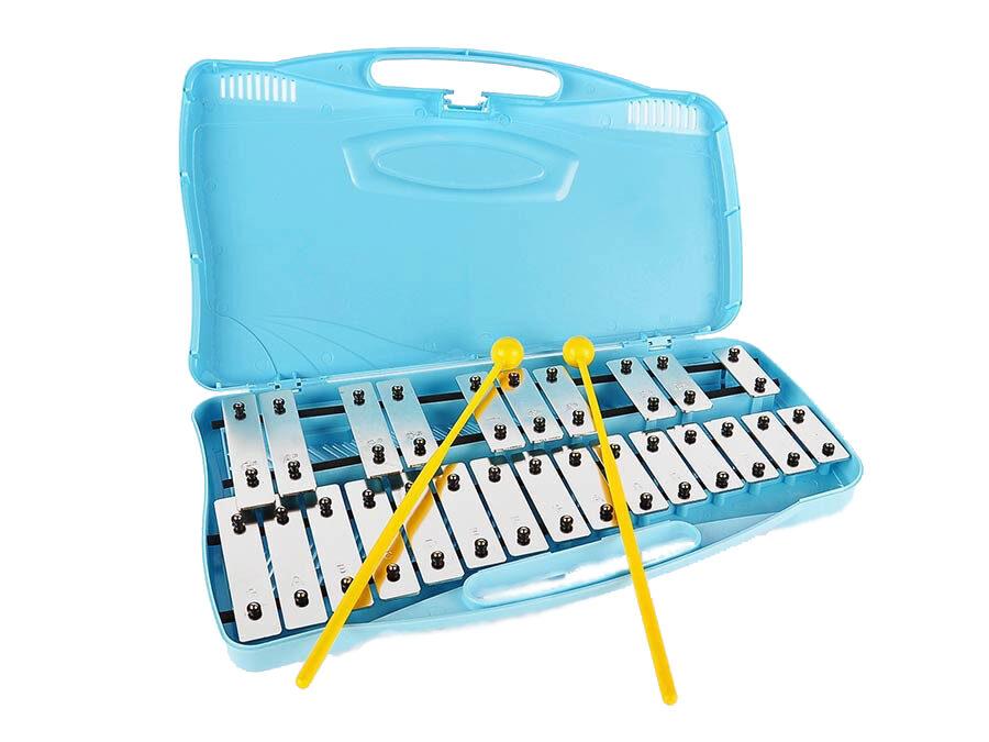 xylophone lames chromées