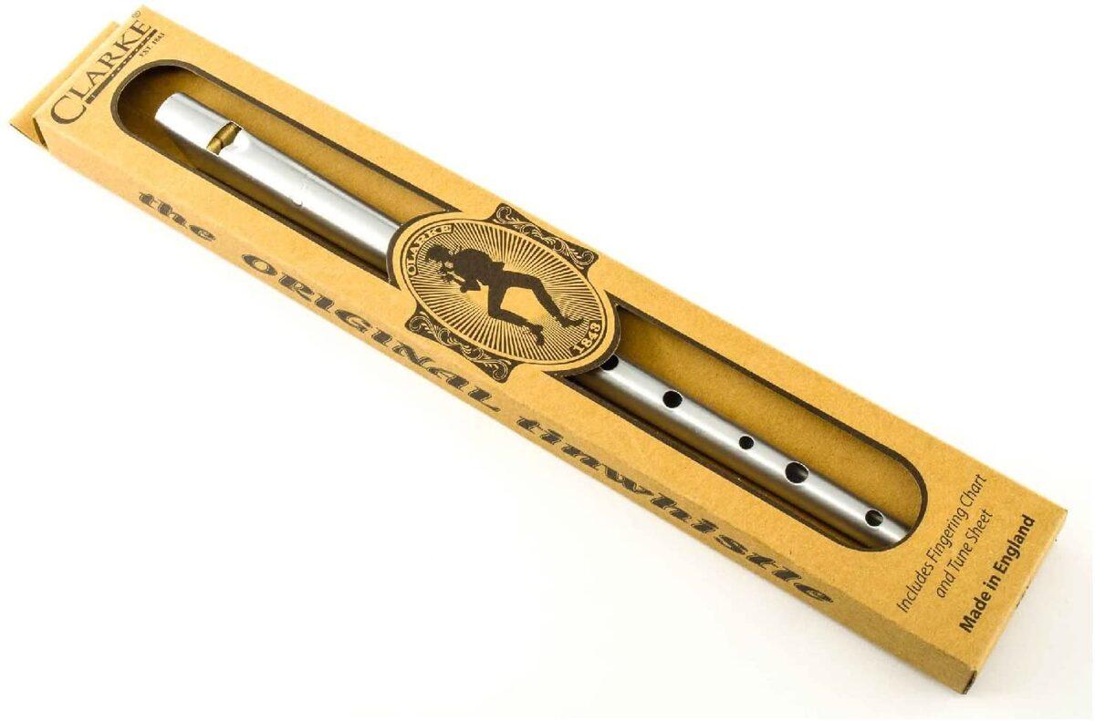 Flute Irlandaise argentée ou noire dorée