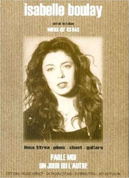 Isabelle Boulay piano chant