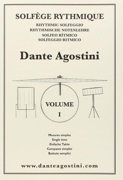 Solfège Rythmique Dante Agostini volume 1