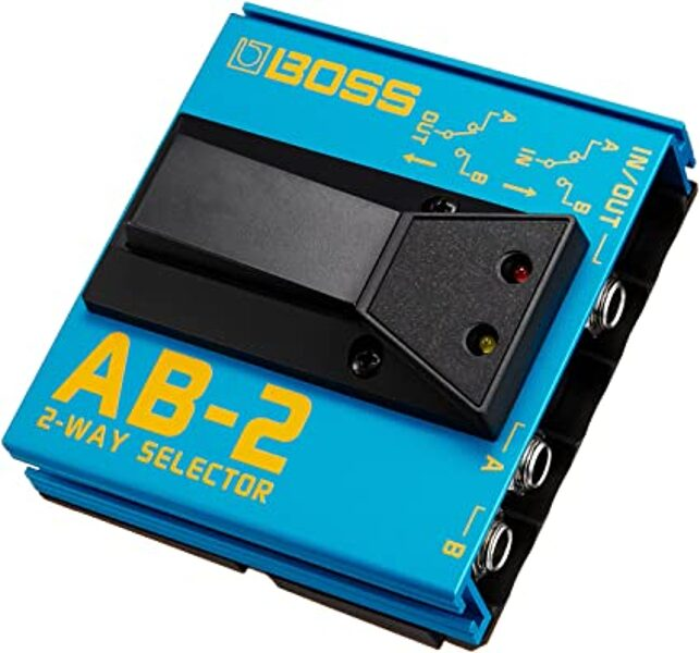 Footswitch Boss AB-2 selector
