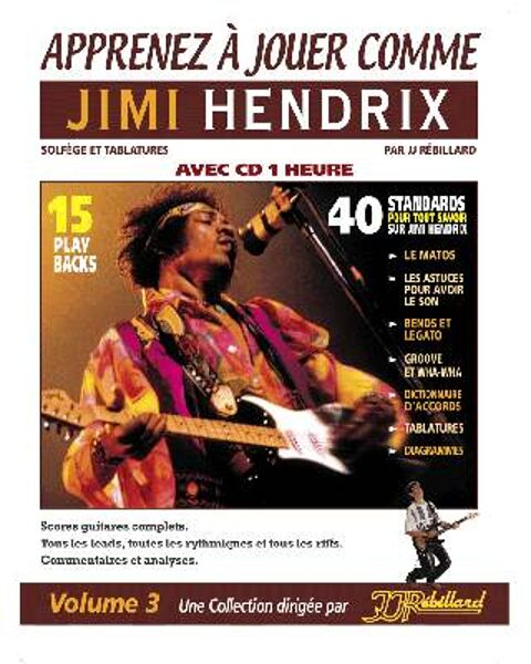 Apprenez à jouer comme Jimi Hendrix
