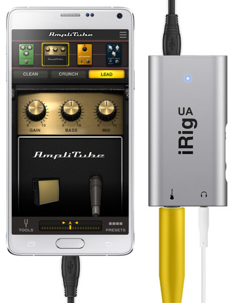 Interface guitare pour Android iRig UA