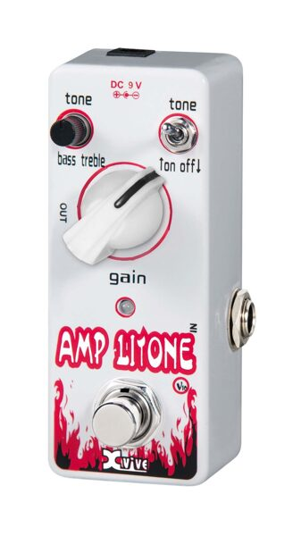 Pédale préampli X-vive Amp Litone