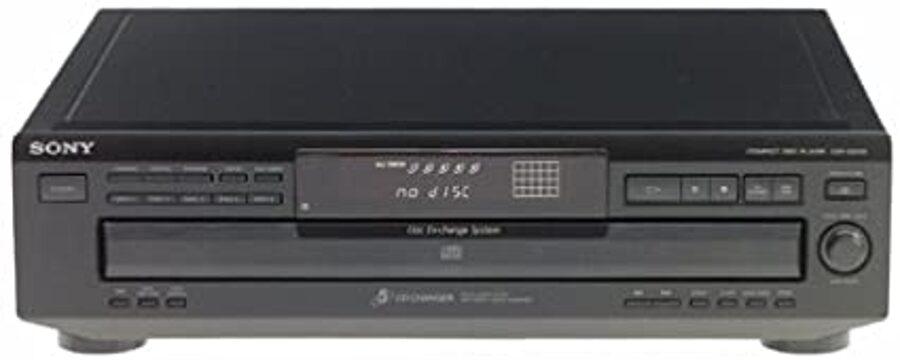 lecteur 5 cd SONY CDP-CE315